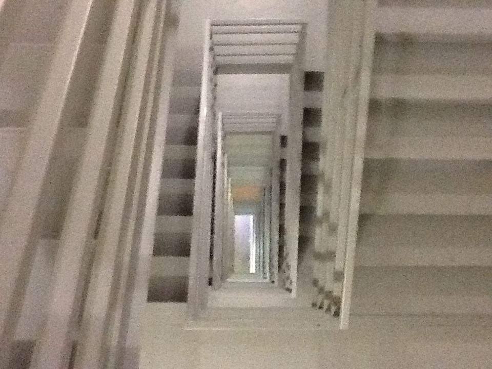 If you are marooned in a high-rise building with no access to training gear, the fire stairs can be great.