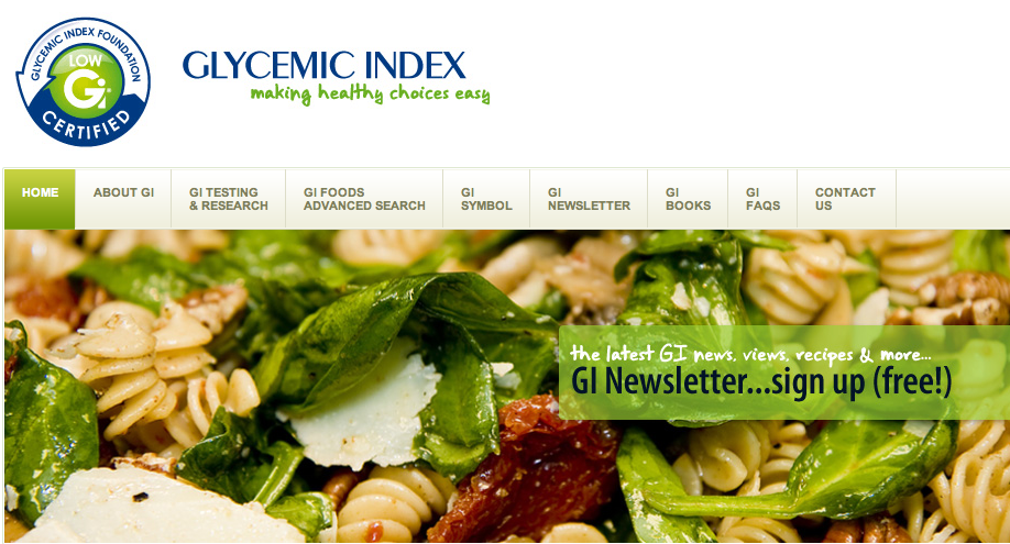 If you want to watch your weight or be the best athlete you can be you had better understand glycemic index. From: http://goo.gl/Un0tW