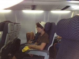 airplane seats, poor posture, unnecessary televisions, FitOldDog's opinion,