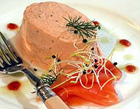 Great salmon meals by The International Kitchen, including salmon mousse.