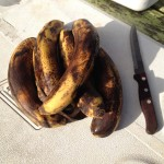 Ironman Camping: Black Bananas Are Ripe Bananas To Be Sautéed In Butter