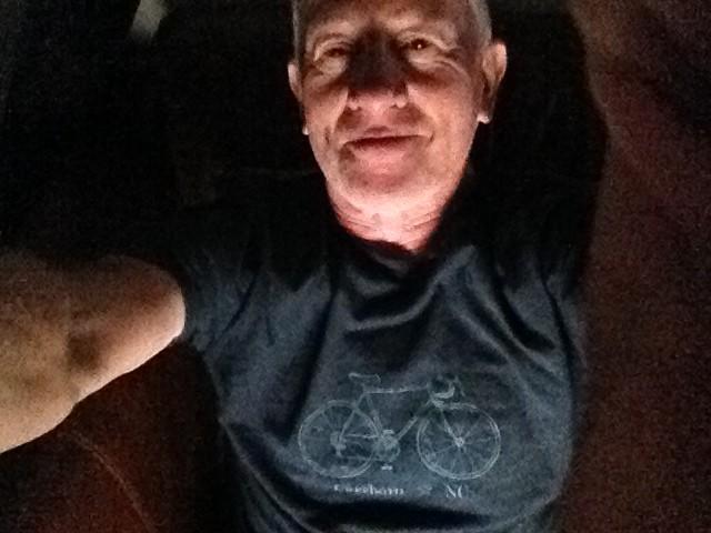 FitOldDog's bike tee-shirt