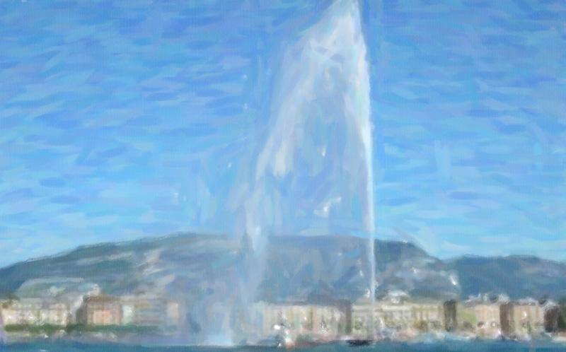 Jet d'Eau Geneva Switzerland