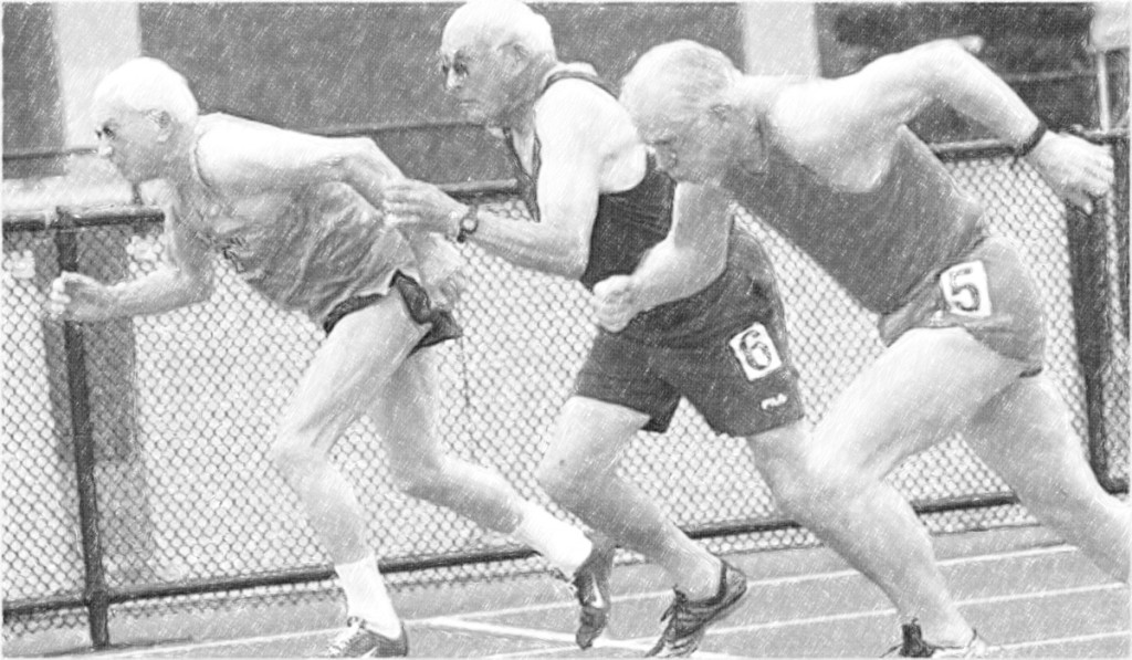 Old guys running