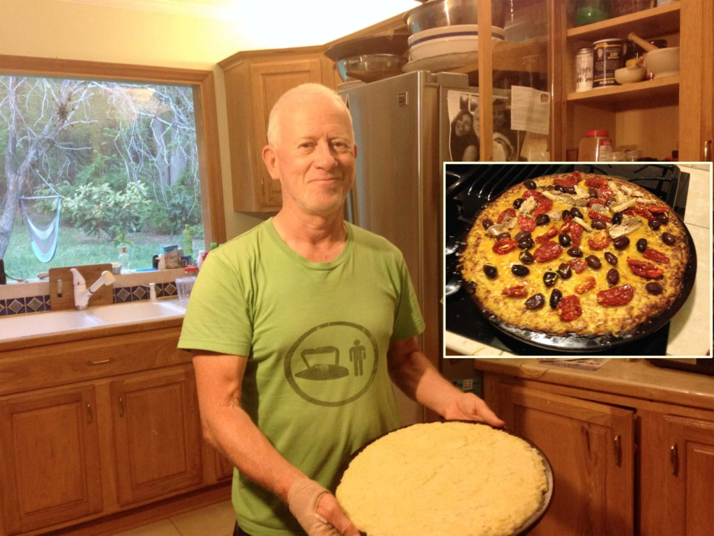 FitOldDog's makes a low carb pizza dough.